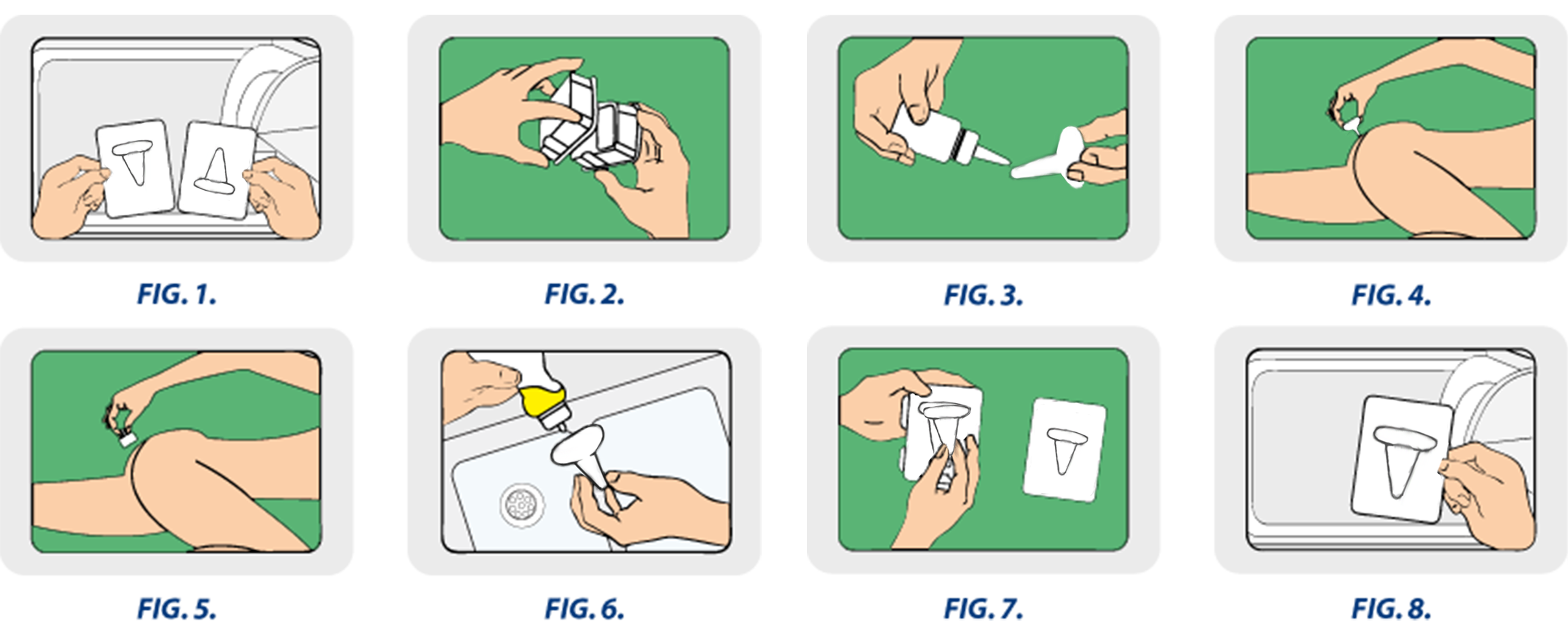 how to use piles relief device process